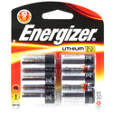Energizer ELCR123A-BP-6 1500mAh 3V Lithium Primary (LiMNO2) Button Top Photo Batteries - 6 Count Retail Card