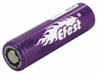 Efest 4334 18650 unprotected flat top battery side angle