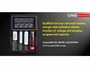 Klarus CH4S Smart Charger manufacturer slide with features