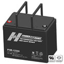 Power-Sonic AGM High Rate PHR-12300 82Ah 12V Rechargeable Sealed Lead Acid (SLA) Battery - T6 Terminal