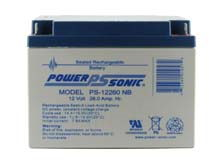 Power-Sonic AGM General Purpose PS-12260 26Ah 12V Rechargeable Sealed Lead Acid (SLA) Battery - NB Terminal