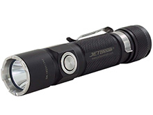 Jetbeam KO-02 Rechargeable LED Flashlight - CREE XHP35 - 1800 Lumens - Uses 1 x 21700 (included) or 1 x 18650 or 2 x CR123A
