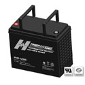 Power-Sonic AGM High Rate PHR-12500 150Ah 12V Rechargeable Sealed Lead Acid (SLA) Battery - T8 Terminal