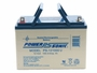 Handles extended on Powersonic-PS-121000-U sealed lead acid battery