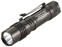 Streamlight ProTac 1L-1AA Dual Fuel LED Flashlight - C4 LED - 350 Lumens - Includes 1x CR123A and 1x AA - Black (88061) or Coyote (88073)