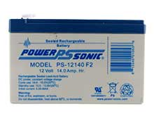 Power-Sonic AGM General Purpose PS-12140 14Ah 12V Rechargeable Sealed Lead Acid (SLA) Battery - F2 Terminal
