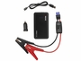 iOnBoost Slim Lithium Jumpstarter with accessories, including jumper cables, USB cable, and car adapter