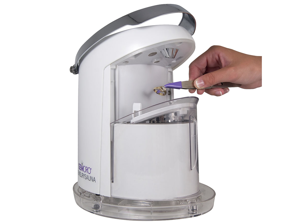 Front view of Jewelry Sauna Compact Cleaning System