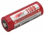 Efest 3163 18500 button top battery side angle
