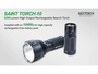 Slide about the battery pack for the Nextorch Saint Torch 10