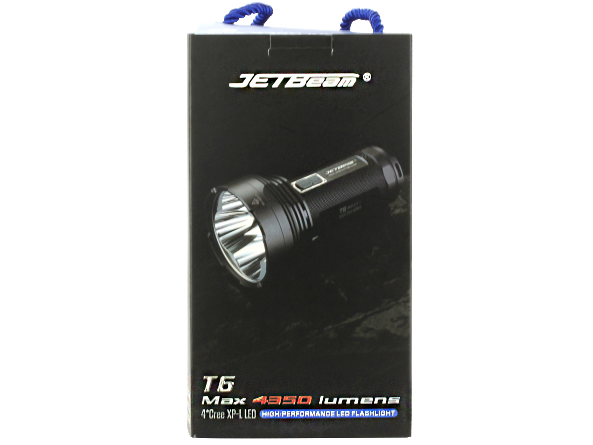 Packaging for JETBeam T6 searchlight