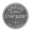 Energizer ECR2025 (400PK) 163mAh 3V Lithium Primary (LiMNO2) Coin Cell Batteries - Case of 400