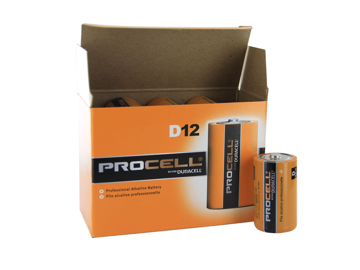 When Ordering in Larger Quantities, these Batteries are Packaged in Boxes of 12