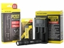 Nitecore P12GT flashlight with battery and i2 charger