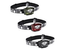Princeton Tec Vizz Headlamp - Red and White LEDs - 205 Lumens - Includes 3 x AAAs - Black, Green or Red