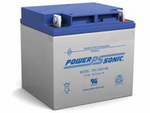 Power-Sonic AGM General Purpose PS-12400 40Ah 12V Rechargeable Sealed Lead Acid (SLA) Battery - NB Terminal