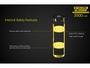 Slide about the Protection Features of the Nitecore NL1835HP 18650