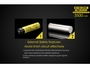 Slide about the External Specifications of the Nitecore NL1835HP 18650