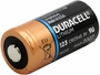 Duracell Ultra CR123A side angle