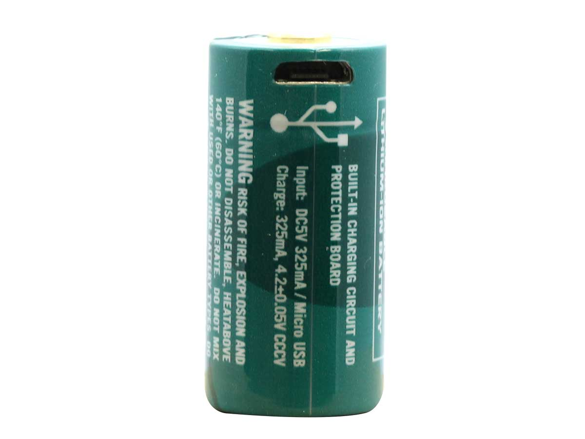 Olight 16340 Micro-USB Internally Rechargeable Battery