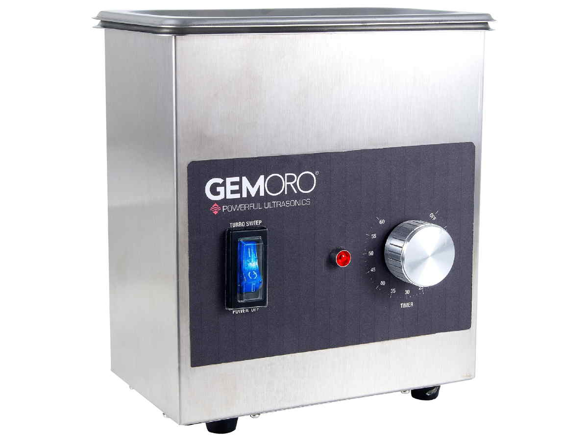 Gemoro Next Generation UltraSonic cleaner front view