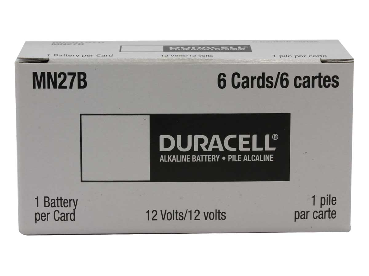 Case for Duracell A27 batteries