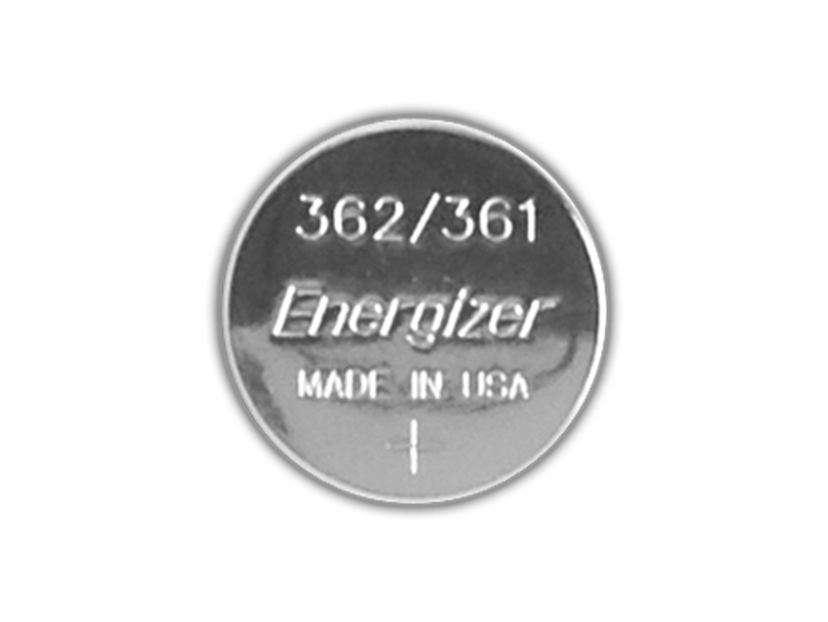 Energizer SR721SW coin cell front view