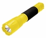 Angle Shot of the Yellow ASP Poly Triad USB LED Flashlight