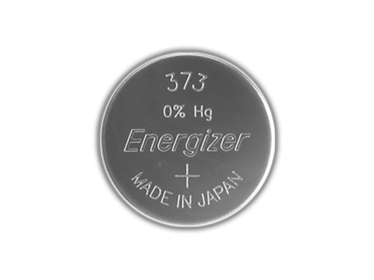 Energizer SR920W coin cell front view