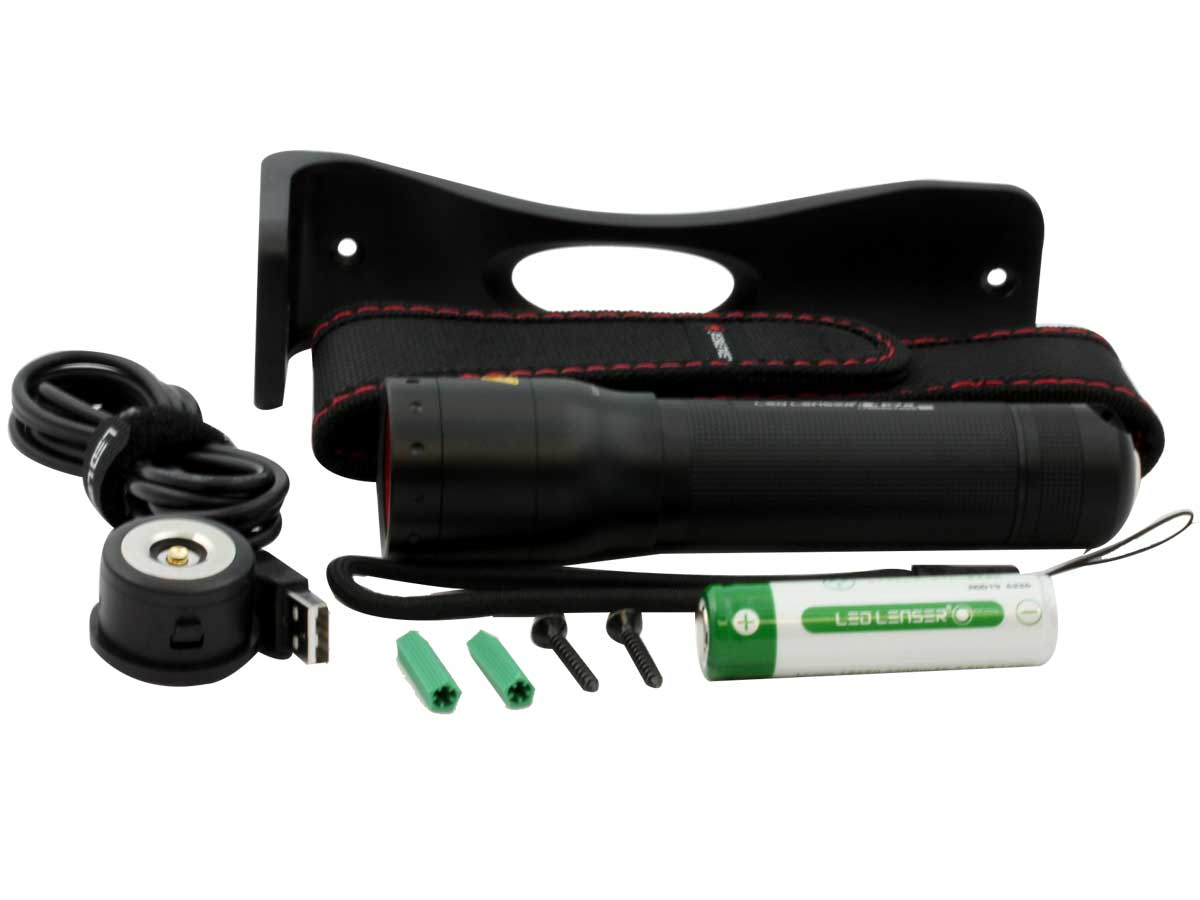 Accessories for Ledlenser P7R flashlight