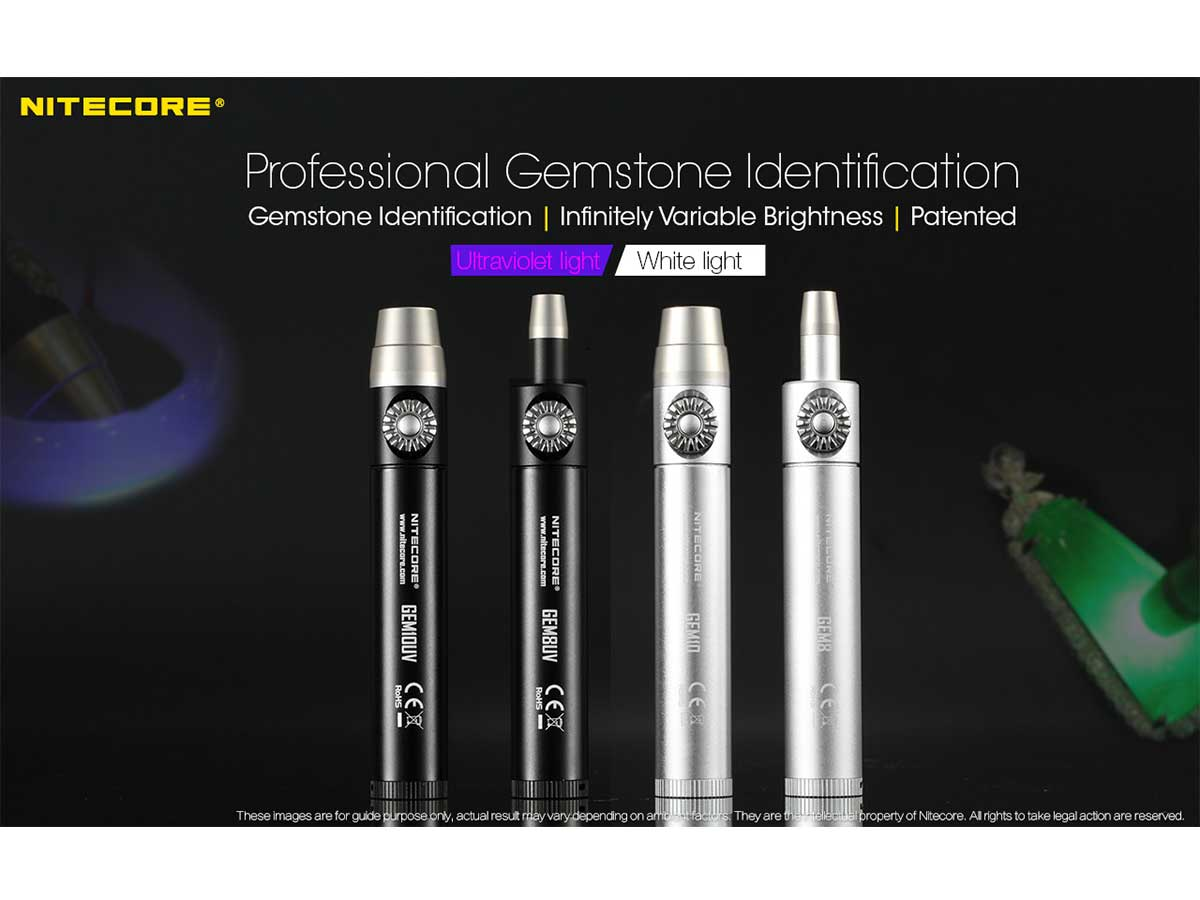 Nitecore GEM series jewler Lights