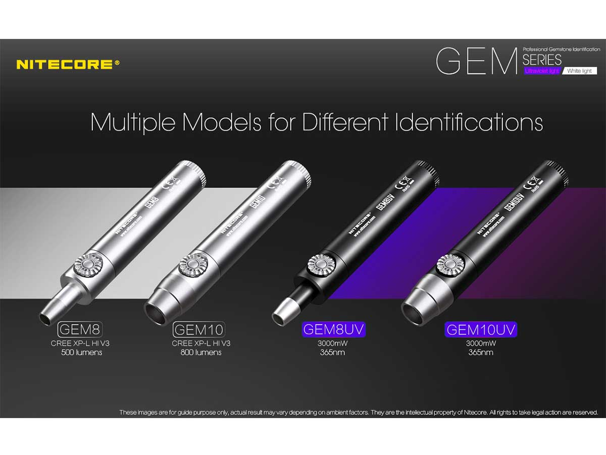 Nitecore Gem Series