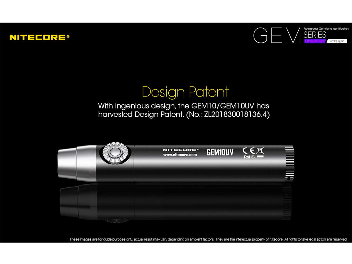 Nitecore GEM Series design patent
