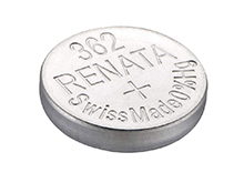 Renata 362 MP 23mAh 1.55V Silver Oxide Coin Cell Battery - 1 Piece Tear Strip, Sold Individually