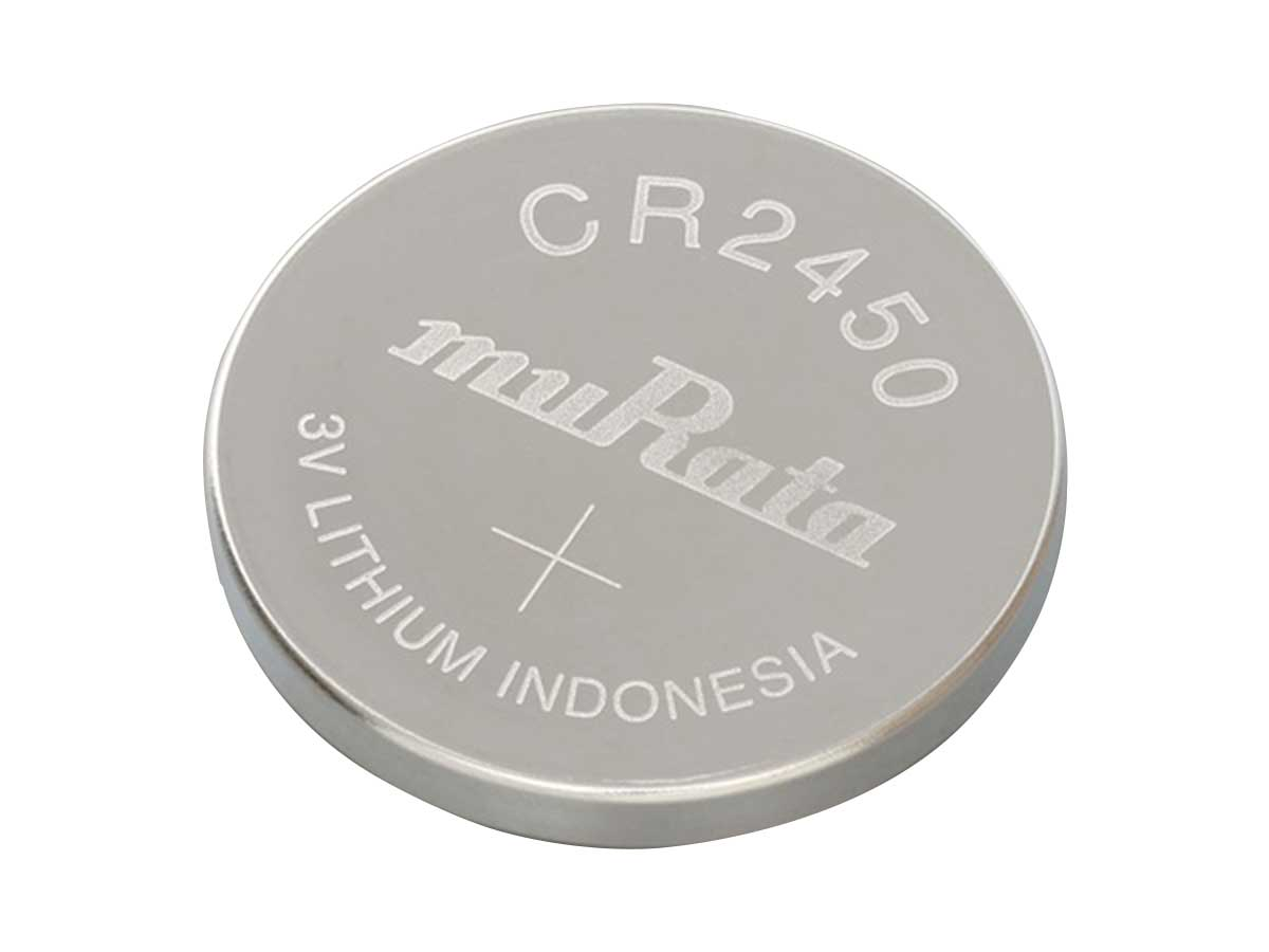 Murata CR2450 Coin Cell Watch Battery