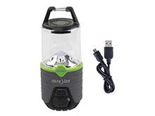 Nite Ize Radiant 314 Rechargeable Lantern - 314 Lumens - Includes Li-ion Battery Pack