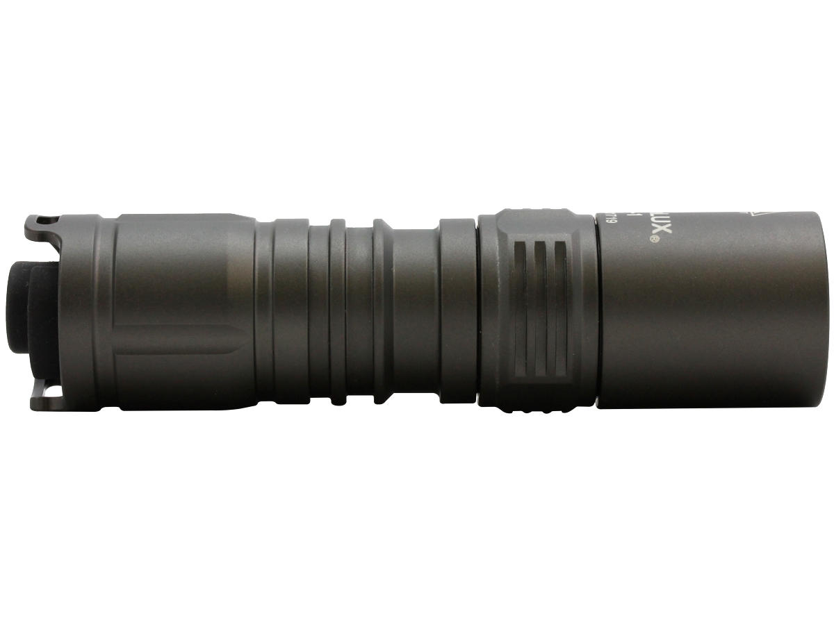 Side Shot of the TT-1 LED Tactical Flashlight