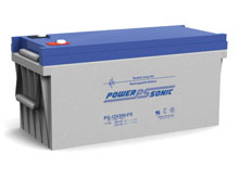 Power-Sonic PG-12V200 FR 210AH 12V Long-Life Rechargeable Sealed Lead Acid (SLA) Battery - B Terminal