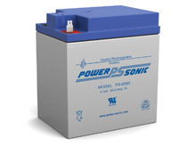 Power-Sonic PS-6580 58AH 6V Rechargeable Sealed Lead Acid (SLA) Battery - F2 Terminal