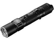 Jetbeam PC20 High Performance Rechargeable LED Flashlight - CREE XHP35 - 1800 Lumens - Includes 1 x 3.6V 5100mAh 21700