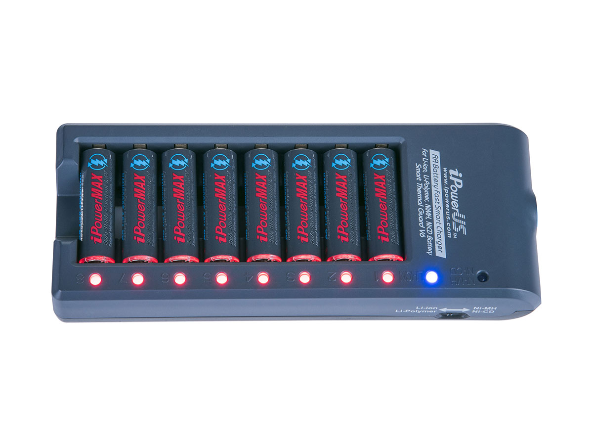 iPower 8-Bay Charger
