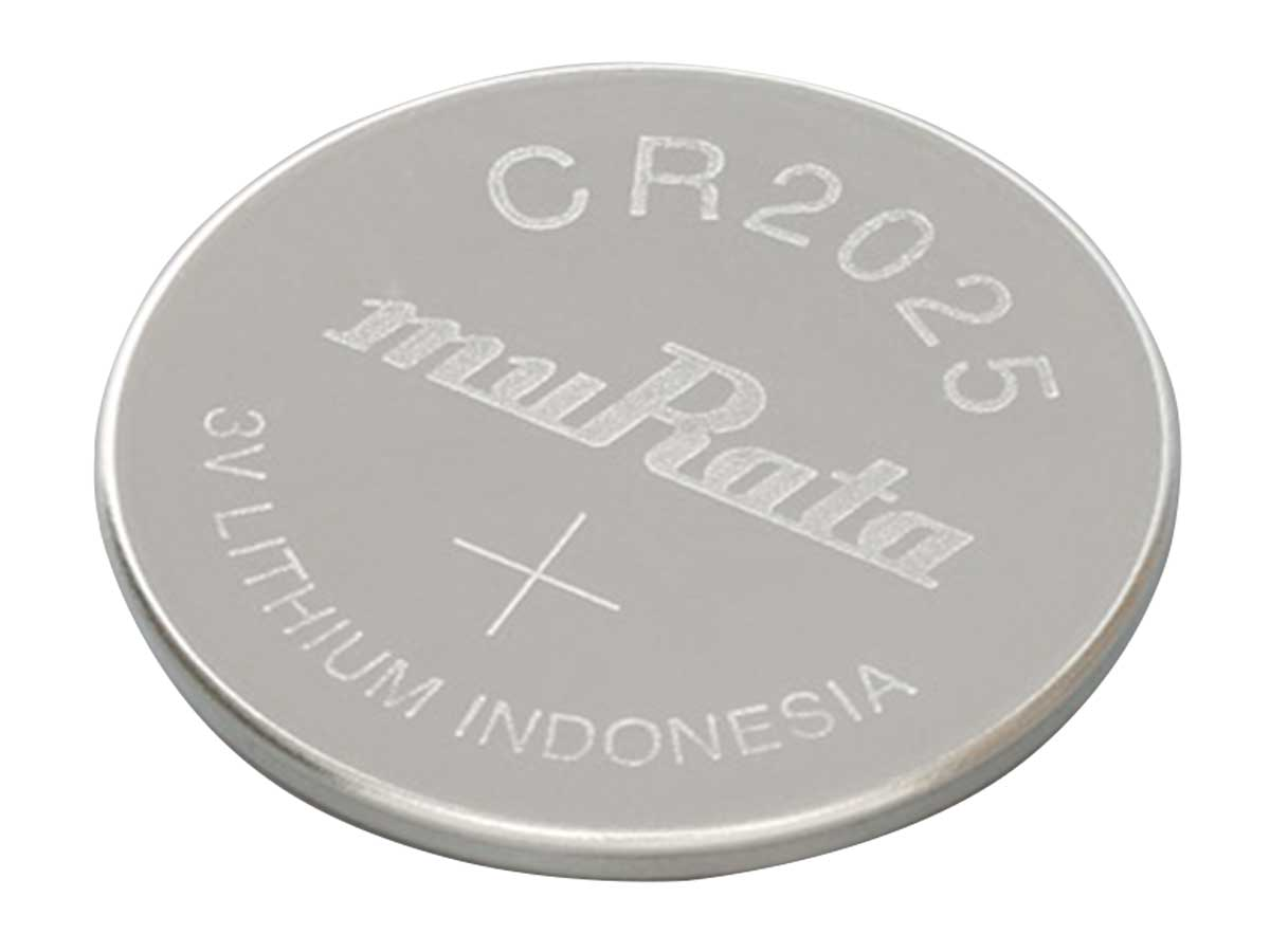 Murata CR2025 Coin Cell Watch Battery