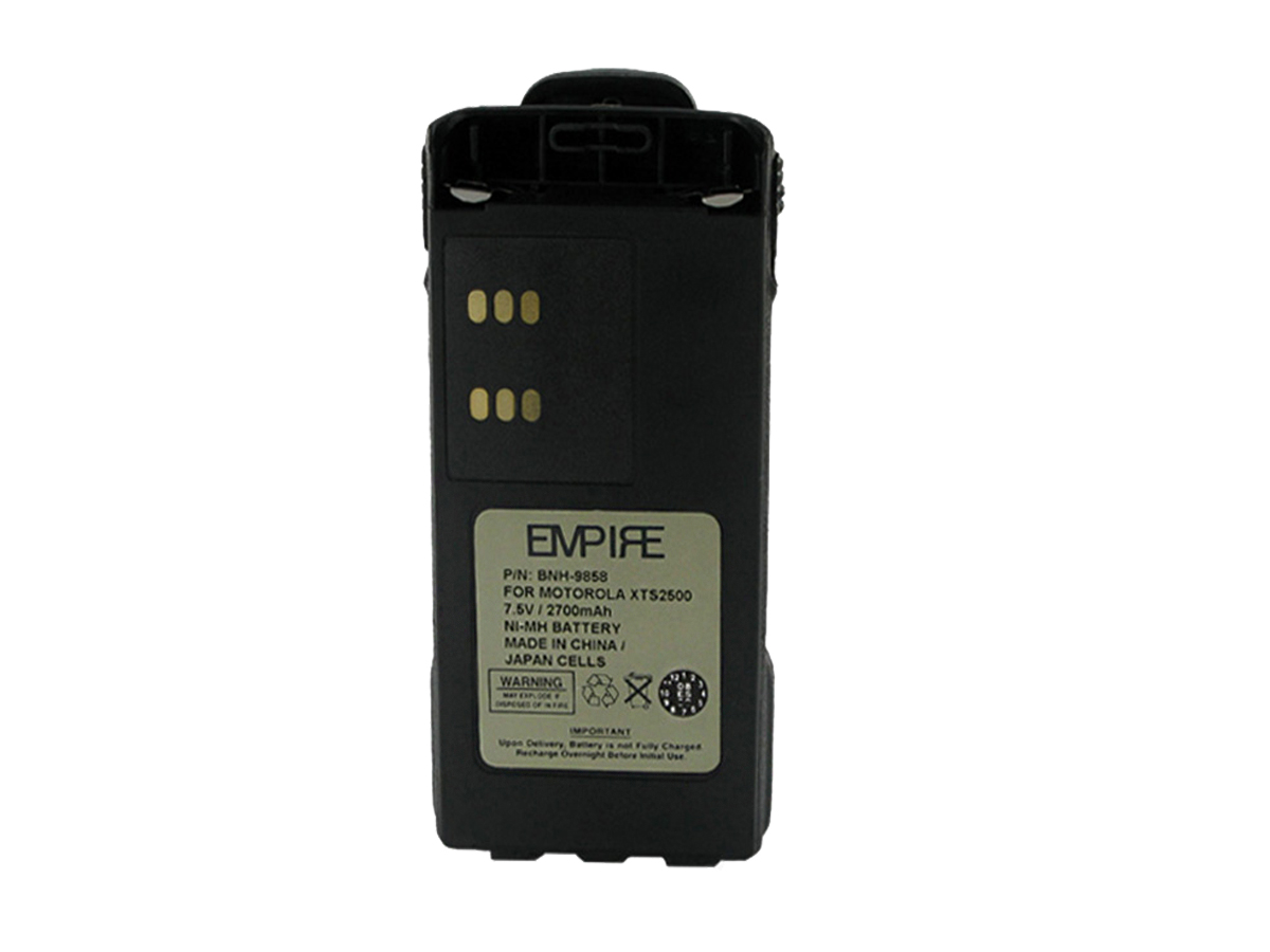 Empire BNH-9858 battery pack upright front view