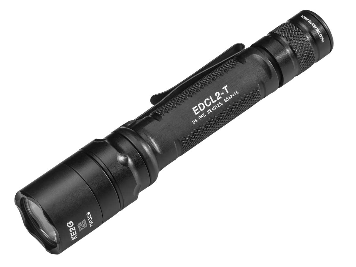 Surefire EDCL2-T Everyday Carry Tactical LED Flashlight