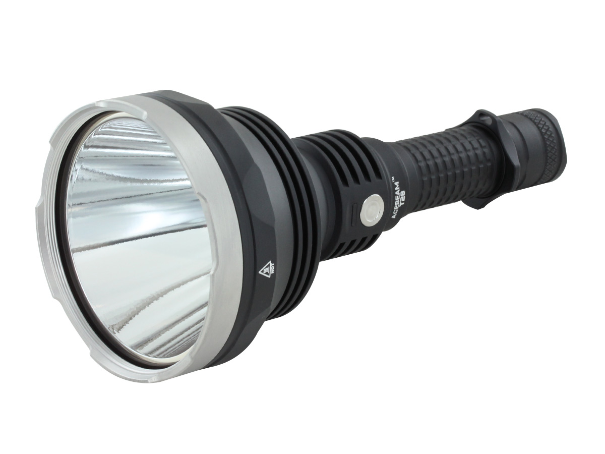 ACEBEAM T28 AT AN ANGLE