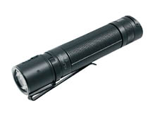 Klarus E2 Deep Pocket Carry Rechargeable LED Flashlight - CREE XP-L HI V4 - 1600 Lumens - Includes 1 x 18650