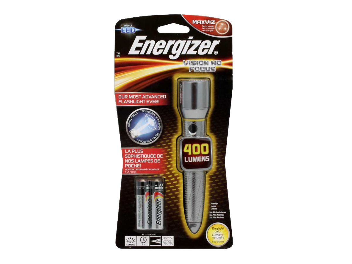 Batteries Included Energizer X Focus Torch X Focus 2AA
