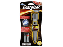 Energizer Vision HD Focus Metal LED Flashlight - 400 Lumens - Includes 2 x AA - EMPZH21E