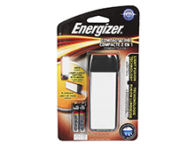 Energizer Light Fusion Compact 2-in-1 Handheld LED Work Light - 50 Lumens - Includes 2 x AAAs (ENFCH22E)