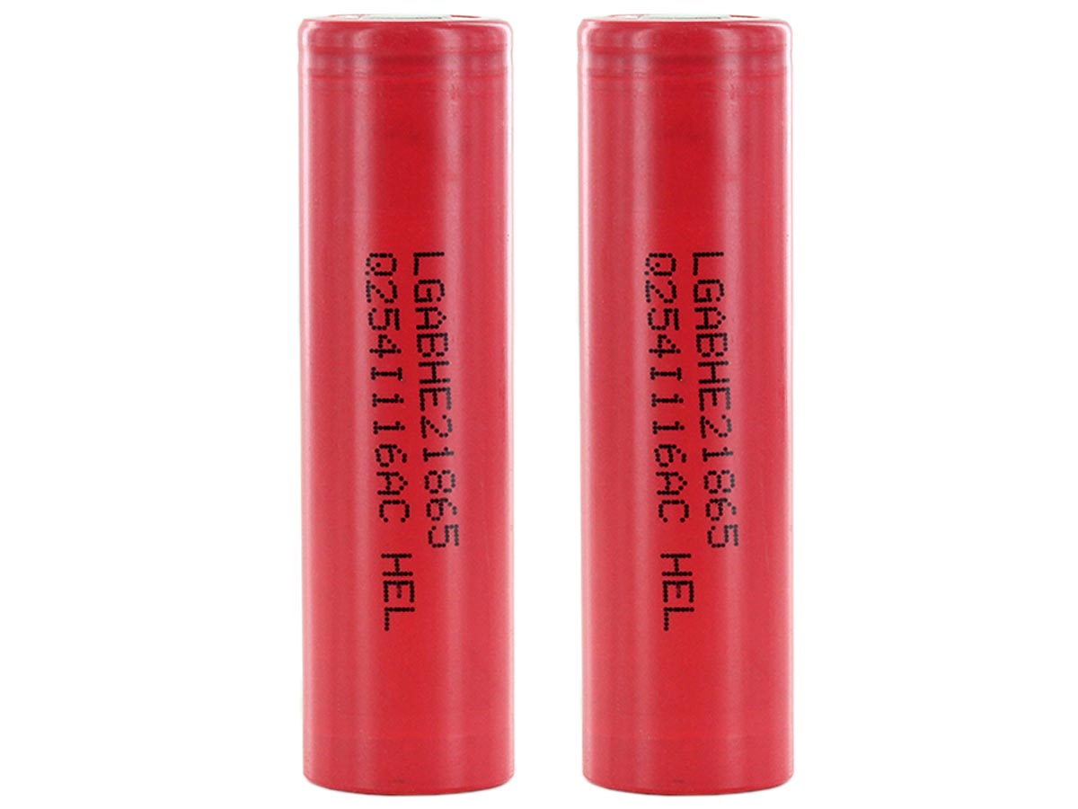 Pair of LG HE2 Batteries